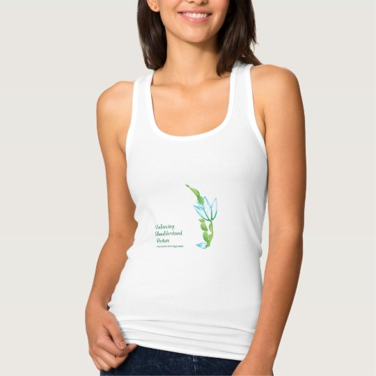 Women's Tank Top (Balancing Shoulder Stand Pose)