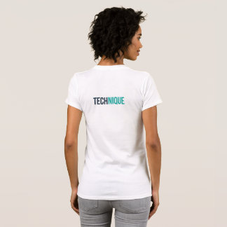 Womens TECHnique t-shirt (White)