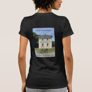 Women's tee shirt with River Trail