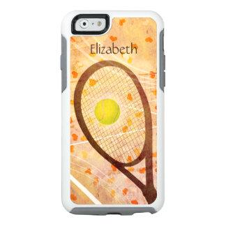 "women's tennis graphics ""Tennis Love"" OtterBox iPhone 6/6s Case"