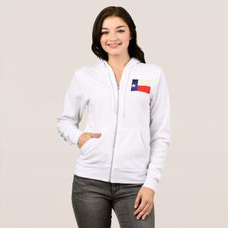 Women's Texas Flag Zip Hoodie