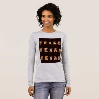 "Women's ""Texas"" Long Sleeve Tee"