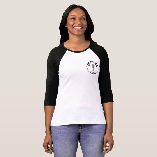"Women's ""the sesh"" Crest 3/4-Sleeve T-Shirt"