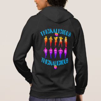 Womens THICKALICIOUS Hoodie