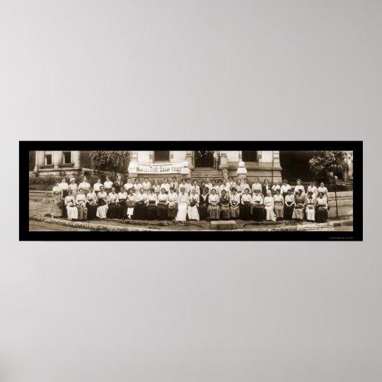Womens Trade League Photo 1913 Poster