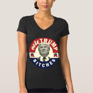Womens Trump for President 2016 V-Neck Shirt
