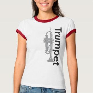 Womens Trumpet Ringer T-Shirt