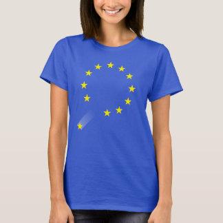 Women's UK Brexit T-shirt (EU Blue)