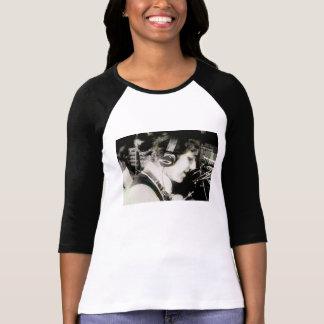 Womens Unique Vintage Retro Switchboard Punk Shirt