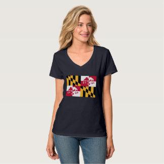 Women's V Neck Joker Calvert T-Shirt