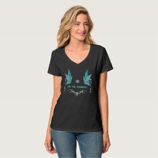 Women's v neck lucid dreaming shirt. T-Shirt