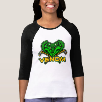 Women's Venom 3/4 Sleeves T-shirt