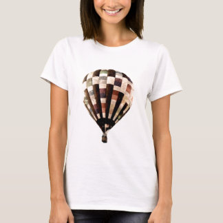 Women's vintage hot air balloon t-shirt