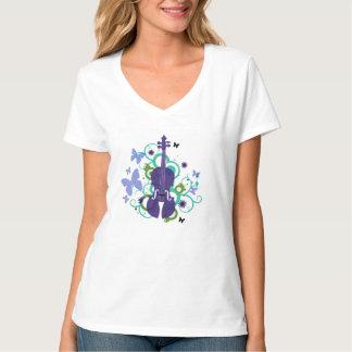 Women's Violin Sky T-Shirt