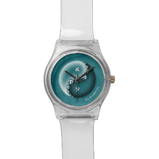 women's volleyball any color yin and yang wrist watch