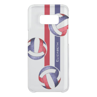 women's volleyball red white blue uncommon samsung galaxy s8 case