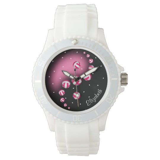 women's volleyball yin and yang any colour wrist watch