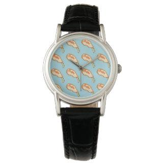 """women's watch """"CHICKEN blue ver. """""""