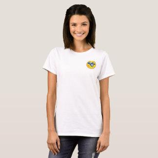 Women's white pocket logo t T-Shirt