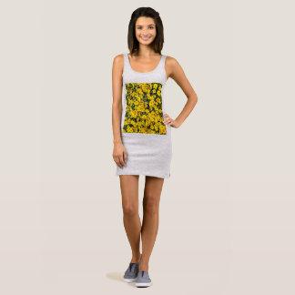 Women's Wild Flower Tank Dress