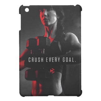 Women's Workout Inspiration - Crush Every Goal Case For The iPad Mini