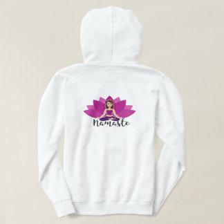 Women's Yoga Hooded Sweatshirt