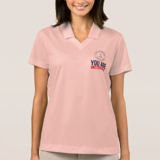 Womens You Are Unstoppable polo