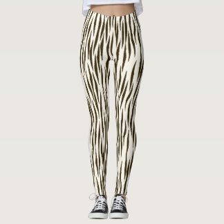 Women's  Zebra Print Leggings