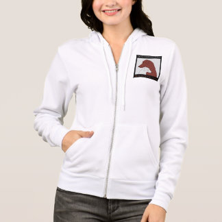 Women's Zip Up Hooded Sweatshirt