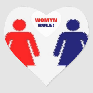 WOMYN RULE! STICKER