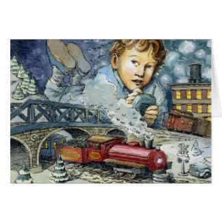 """Wonder As You Wander"" Christmas Card"