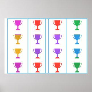 WONDER Color Mania :  WINNER AWARD REWARD Posters