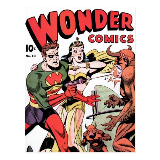 Wonder Comics #10 Postcard