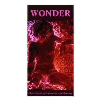"""WONDER"" Custom Fine Art Photocard Photo Card Template"
