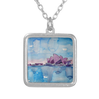 Wonder from Downunder Sydney Silver Plated Necklace