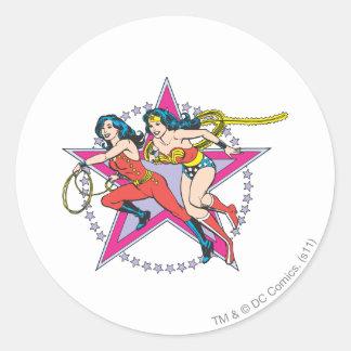 Wonder Girls Round Sticker