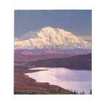 Wonder Lake and Mt. Denali at sunrise in the Notepad