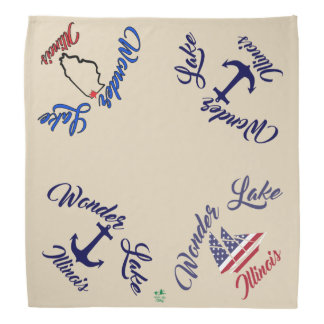 Wonder Lake Boating Bandana