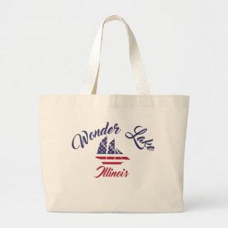 Wonder Lake Illinois Jumbo Boat Tote Bag