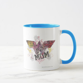 Wonder Mom Mixed Media Mug