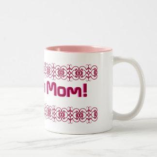 Wonder Mom! Two-Tone Coffee Mug
