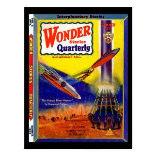 Wonder Stories Quarterly v03 n04 (1932-Su.Stellar) Postcard