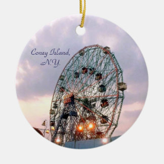 'Wonder Wheel at Twilight' Ornament