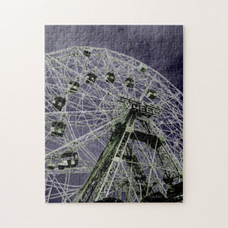 Wonder Wheel Psychedelic Jigsaw Puzzle