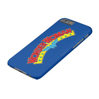 Wonder Woman 1987 Comic Book Logo Barely There iPhone 6 Case