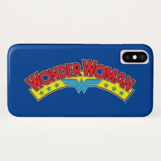 Wonder Woman 1987 Comic Book Logo Case-Mate iPhone Case