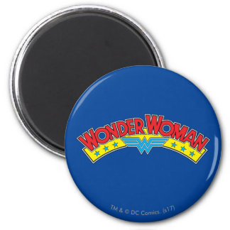 Wonder Woman 1987 Comic Book Logo Magnet