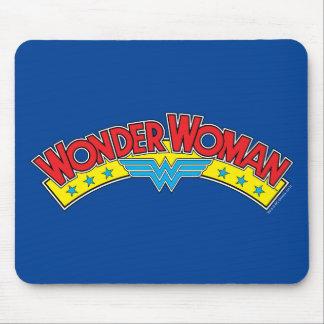 Wonder Woman 1987 Comic Book Logo Mouse Pad
