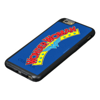 Wonder Woman 1987 Comic Book Logo OtterBox iPhone 6/6s Plus Case