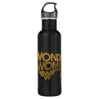 Wonder Woman 75th Anniversary Gold Logo 710 Ml Water Bottle